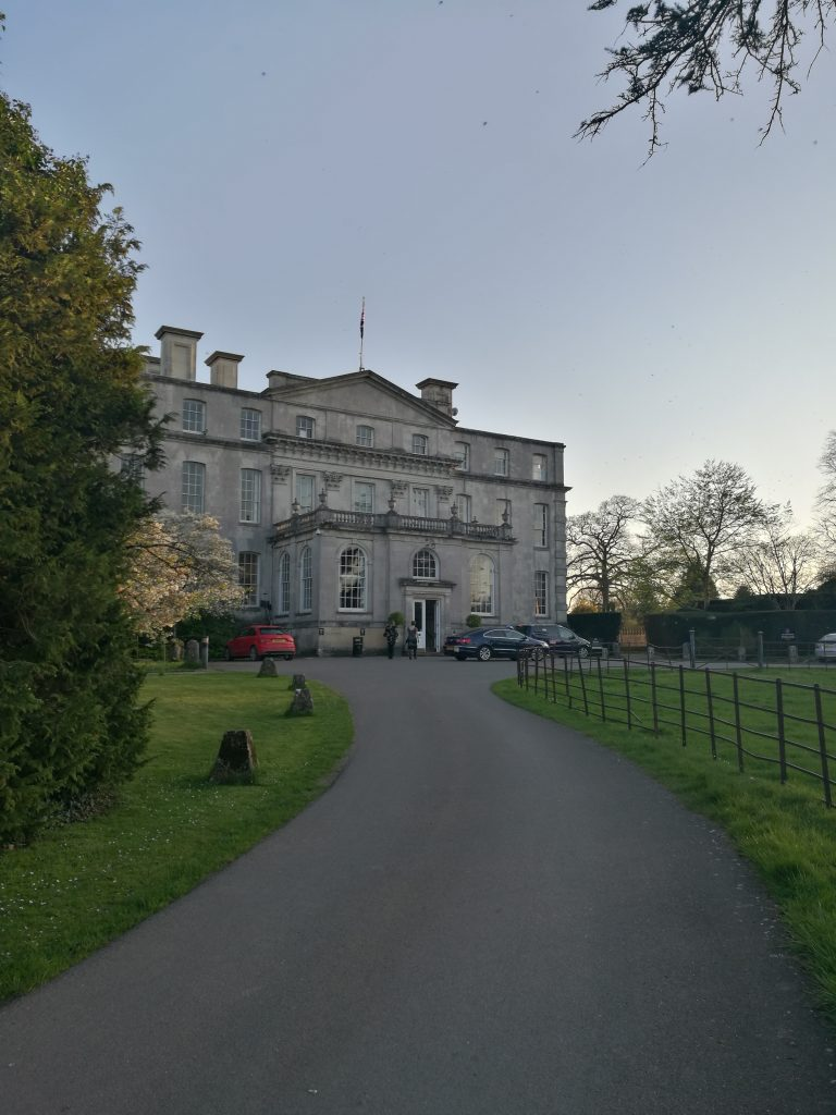 SPRING EVENING AT KINGSTON MAURWARD