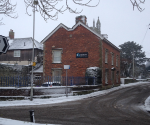 Rutters Solicitors Shaftesbury, Dorset in the Snow