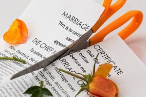 Divorce splitting due to divorce