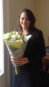 Harriet leaving Rutters Solicitors Dorset Shaftesbury and Gillingham
