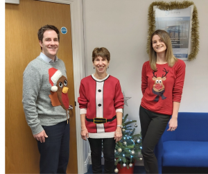 Rutters Solicitors Sturminster Newton Dorset Christmas Jumper Day
