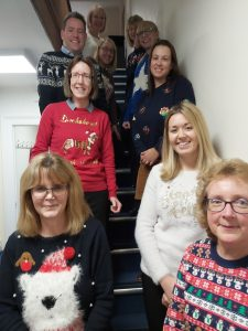 Shaftesbury Dorset Solicitor Christmas Jumper Day
