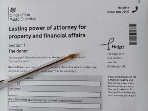 lasting power of attorney Rutters Solicitors Dorset